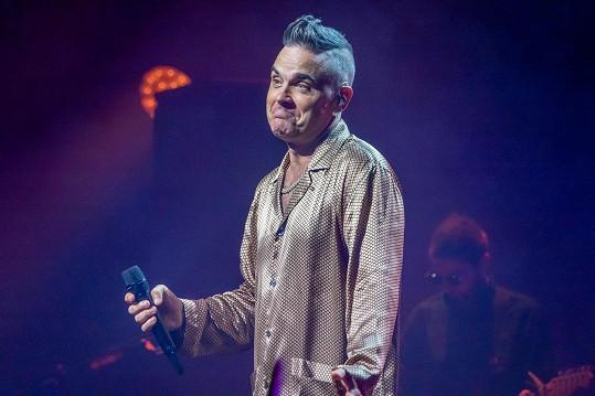 Robbie Williams prý duchy nevídá od té doby, co se stal otcem.
