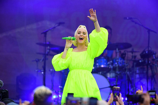 Během nedávného koncertu v Austrálii