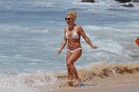 Takhle vysportovanou postavu Britney snad nikdy neměla.