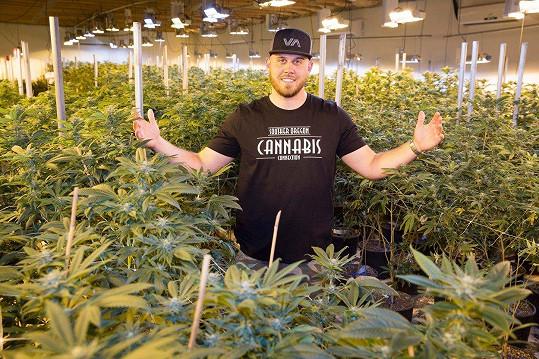 Tyler Dooley vydělal milióny na marihuaně.
