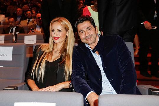 André Ohanian a Adriana Sklenaříková