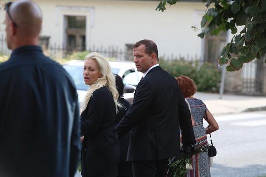 Tereza Mátlová a Jaromír Soukup