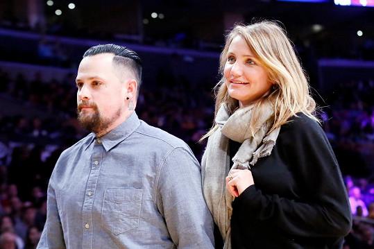 Cameron Diaz se počátkem ledna provdala za Benjiho Maddena.