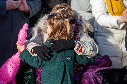 Spontánní gesto malé princezny dojalo nejen Brity.
