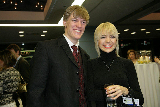 Tomáš Verner tvořil pár s Luckou Vondráčkovou.
