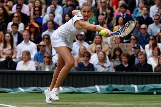 Karolína Plíšková hrála druhé grandslamové finále ve své kariéře. Bohužel nebylo vítězné.