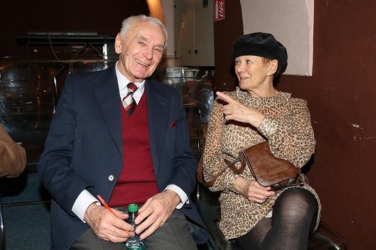 S kolegyní Zdenkou Hadrbolcovou