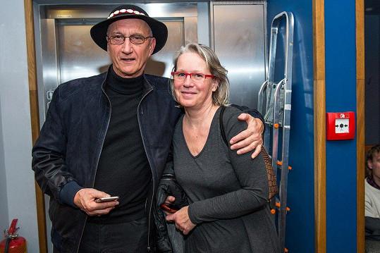 Jozef Banáš a Mária Banášová křtili knihu.