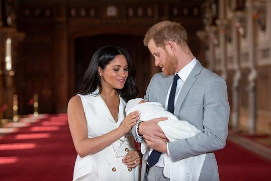 Vévoda a vévodkyně ze Sussexu se loni v květnu stali rodiči syna Archieho.