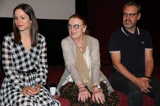 Na tiskové konferenci nového filmu
