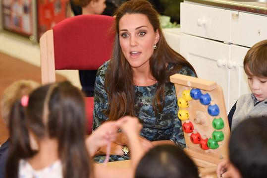 S dětmi si užila legraci.