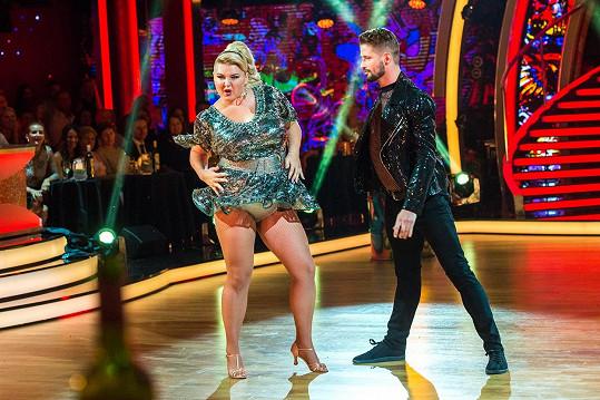 Evelyn Kramerová tančila ve slovenské verzi StarDance s názvem Let´s Dance