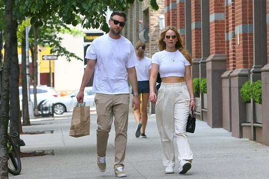 S manželem Cookem, kterého si vzala v roce 2019.