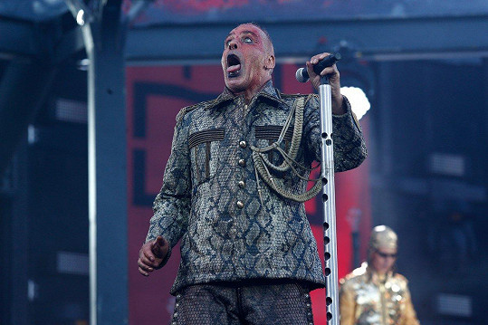 Zpěvák skupiny Rammstein Till Lindemann