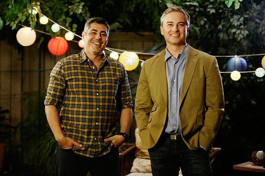 Danny Nucci a Kerr Smith v seriálu The Fosters
