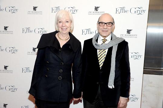 Herec s manželkou Sheilou Ferris