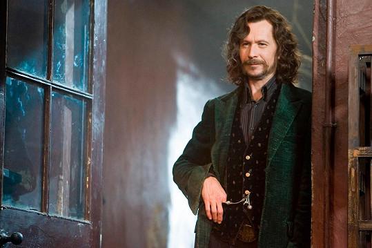 Ve filmech o Harrym Potterovi ztvárnil Siriuse Blacka.