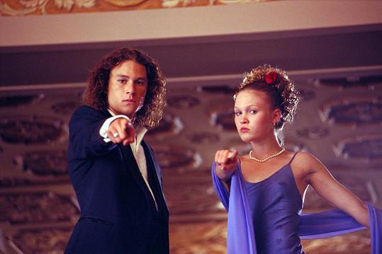 Julia s Heathem Ledgerem ve filmu Deset důvodů, proč tě nenávidím, který ji posunul mezi přední filmové hvězdy.