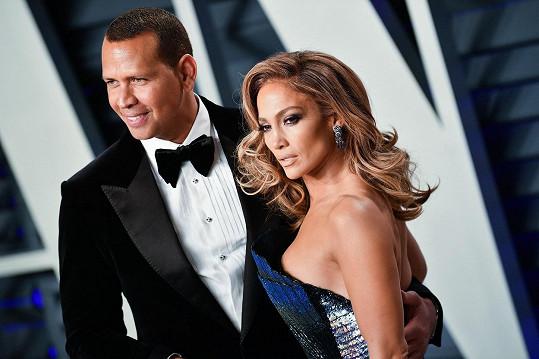 Jennifer Lopez a Alex Rodriguez už netvoří pár.
