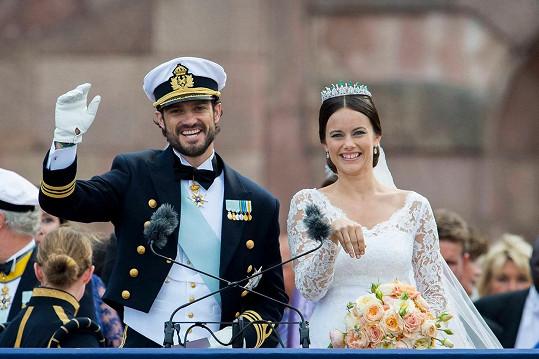Švédský princ Karel Filip a Sofia Hellqvist
