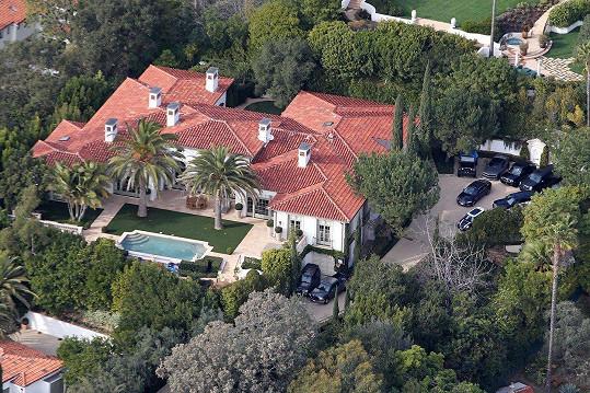 Sídlo Beckhamovi prodali za neuvěřitelných 33 miliónů dolarů.