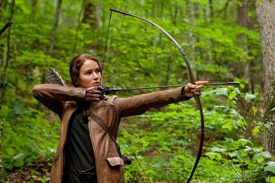 Jako Katniss Everdeen v Hunger Games