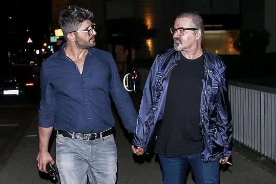 George Michael s přítelem