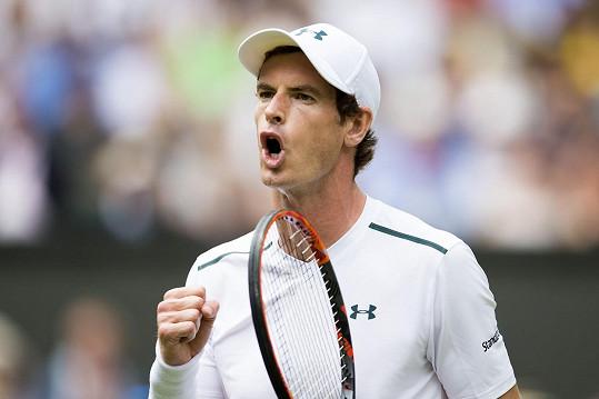 Andy Murray vévodkyni potěšil.