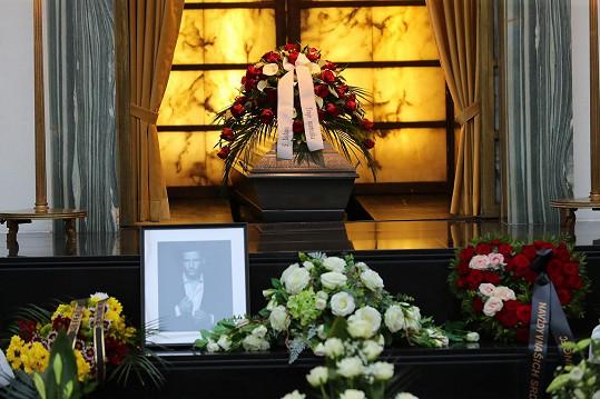 Rodina a přátelé se s ním rozloučili v brněnském krematoriu.