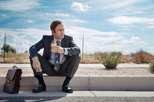 Jeho postava se dočkala i vlastního seriálu s názvem Volejte Saulovi.