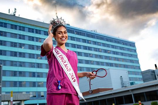 Den po získání titulu nastoupila jako doktorka do nemocnice v Bostonu v Anglii.