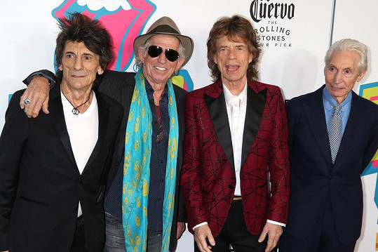 Legendární Rolling Stones