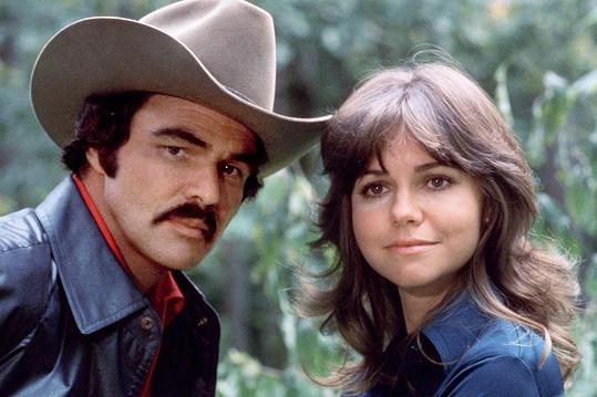 S Burtem Reynoldsem byli partneři na filmovém plátně i v životě.
