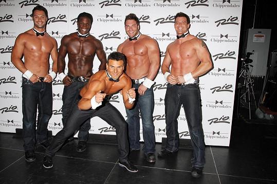 Jackson jeden čas vystupoval i se striptérskou show Chippendales.