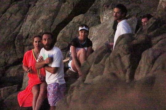 Začátek letošního roku strávili všichni společně v Karibiku.