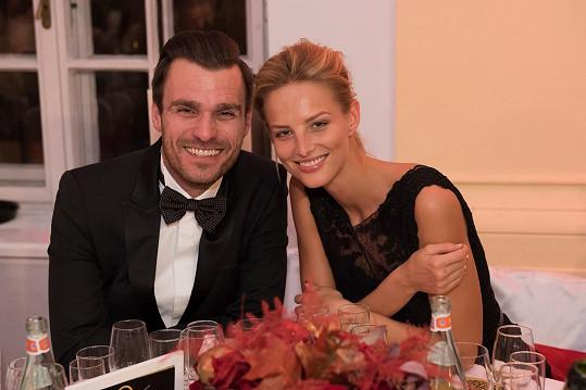 Michaela Kociánová s Leošem Marešem, s nímž kdysi chodila.