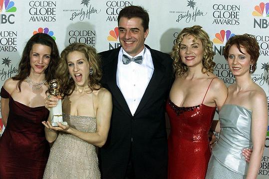Na udílení Zlatých glóbů v roce 2000