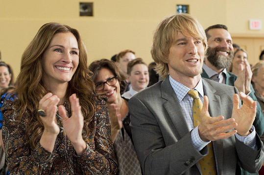 Julia Roberts s Owenem Wilsonem ve filmu Zázrak