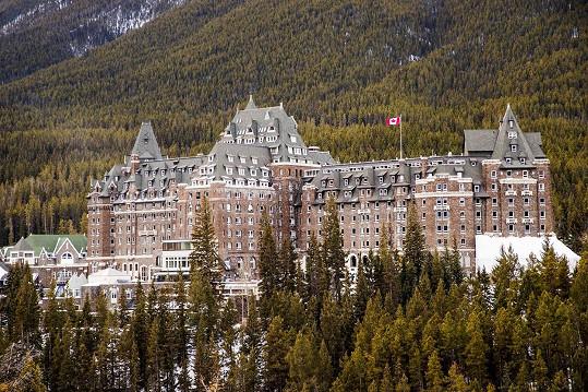Hotel Fairmont Banff Springs proslul svými duchy.