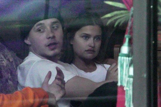 Lexi s Brooklynem Beckhamem na fotkách, které prozradily jejich vztah.