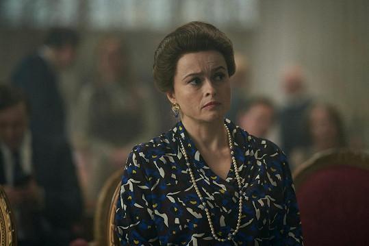 Nominaci si vysloužila za roli princezny Margaret v seriálu Koruna.