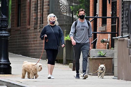 Manželé jsou spolu nejčastěji k vidění při procházkách se psy.