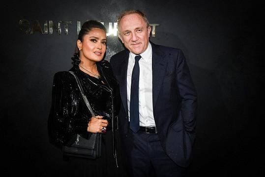 S manželem Françoisem-Henrim Pinaultem