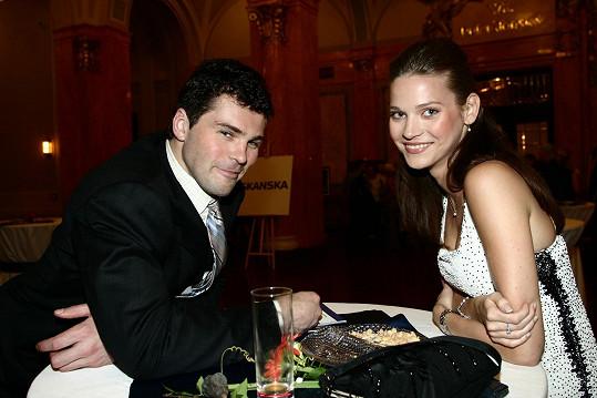 Šest let tvořil pár s Andreou Verešovou.