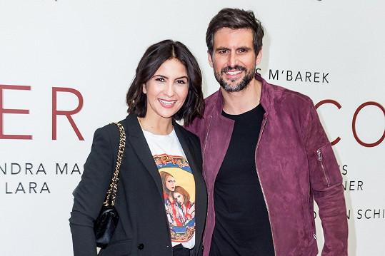 Tom Beck s manželkou Chryssanthi Kavazi