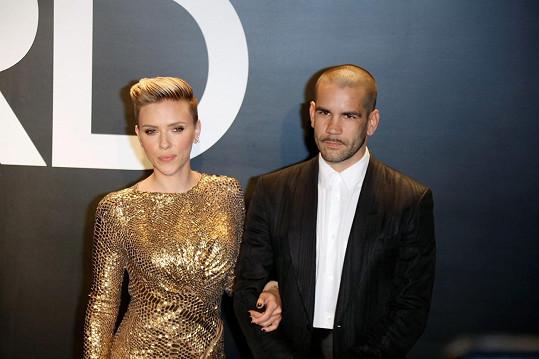 Scarlett Johansson s Romainem Dauriacem