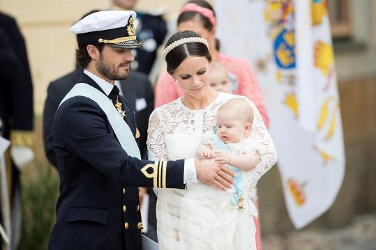 Alexander se v září dočká sourozence.