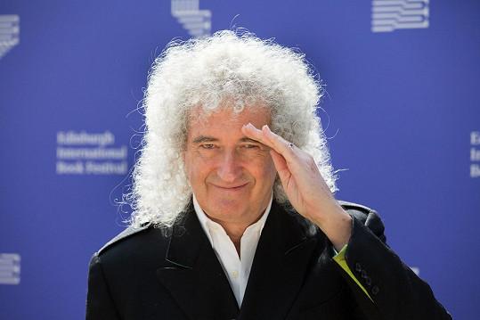 Brian May se zotavoval z natrženého svalu a stlačeného nervu, když utrpěl infarkt.