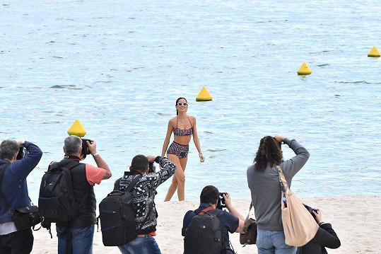 Izabel Goulart byla v Cannes středem pozornosti.