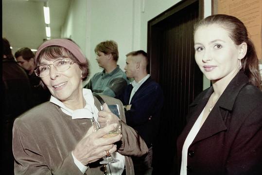 Oblíbená šansoniérka měla velmi blízko také k jeho ženě Daně Morávkové. Obě rodiny se pravidelně navštěvovaly.